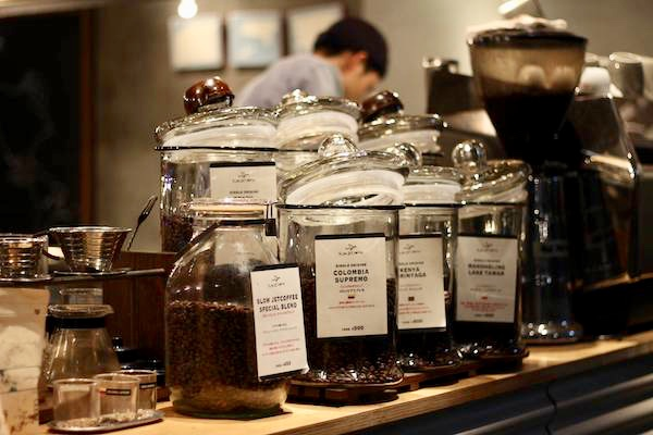 スロージェットコーヒーのコーヒー豆