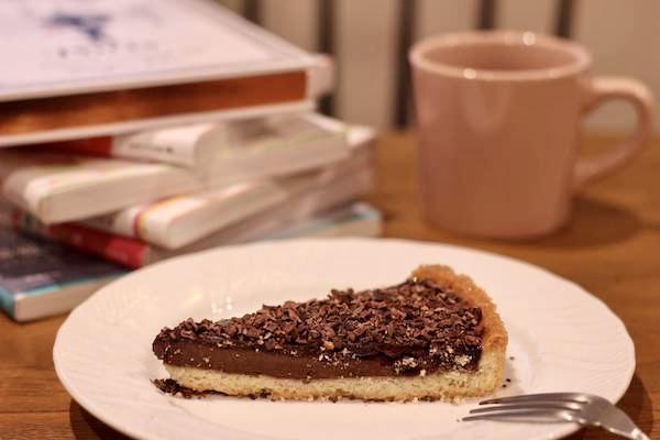 文喫のチョコレートタルト