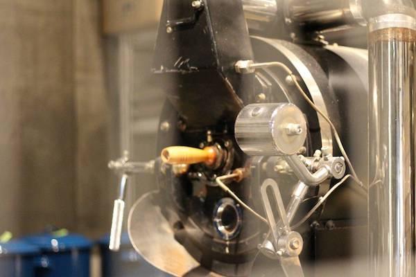 スロージェットコーヒーの焙煎マシーン2