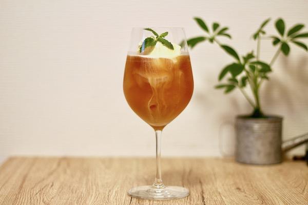 リプトン コールドブリュー 紅茶クリームソーダ
