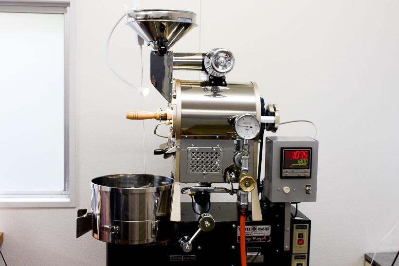 画像:99coffee(NINTEYNINE COFFEE ナインティナインコーヒー)自家焙煎のコーヒー豆 焙煎マシン