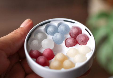 画像:北海道のお土産お菓子 六花亭(ろっかてい)の六花のつゆ