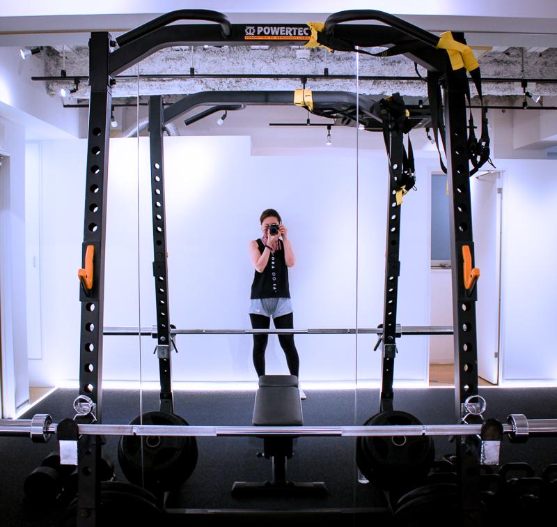 画像:パーソナルトレーニングジムのBEATS恵比寿店で高強度インターバルトレーニングの体験レッスン/ジム内