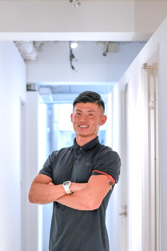 画像:パーソナルトレーニングジムのBEATS恵比寿店で高強度インターバルトレーニングの体験レッスン/エナジスト(トレーナー)さん