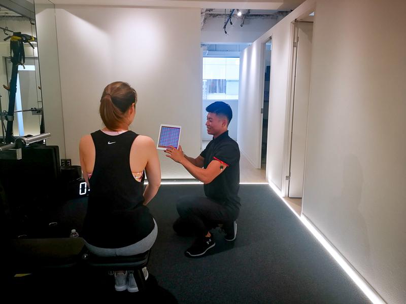 画像:パーソナルトレーニングジムのBEATS恵比寿店で高強度インターバルトレーニングの体験レッスン/