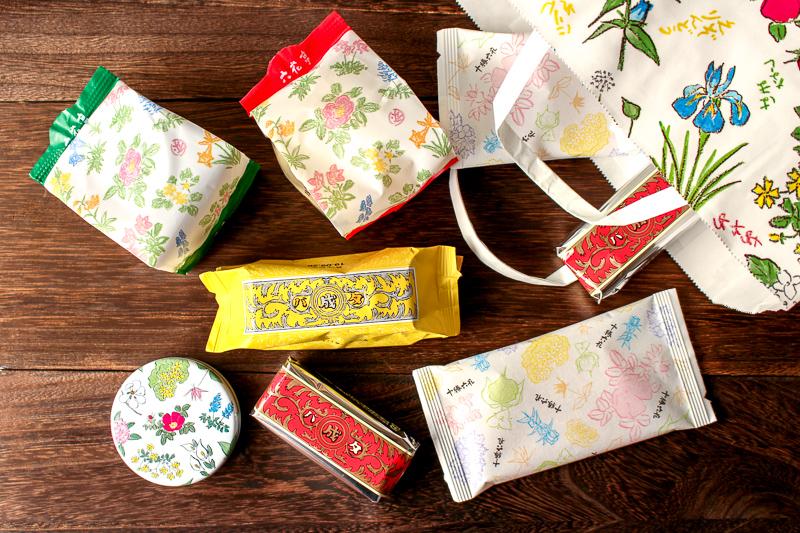 画像:北海道のお土産お菓子屋さん六花亭(ろっかてい)のバラ売りお菓子