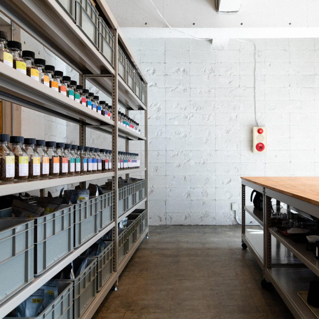 画像:コーヒー定期便サブスクのPostCoffee(ポストコーヒー)の目黒の店舗画像