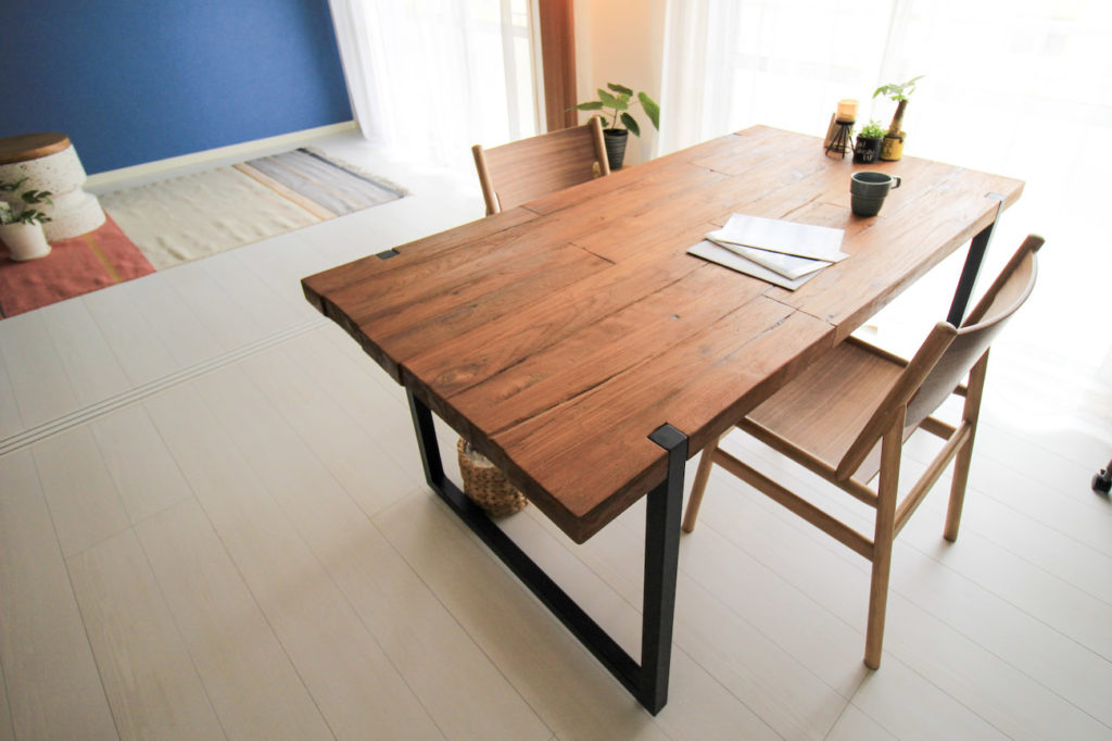 画像:subsclife(サブスクライフ)でレンタルしている家具 ASPLUNDのテーブル