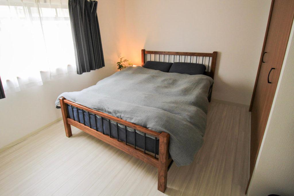 画像:subsclife(サブスクライフ)でレンタルしている家具 ベイクルーズ アクメファニチャーのベッド ダブルサイズ