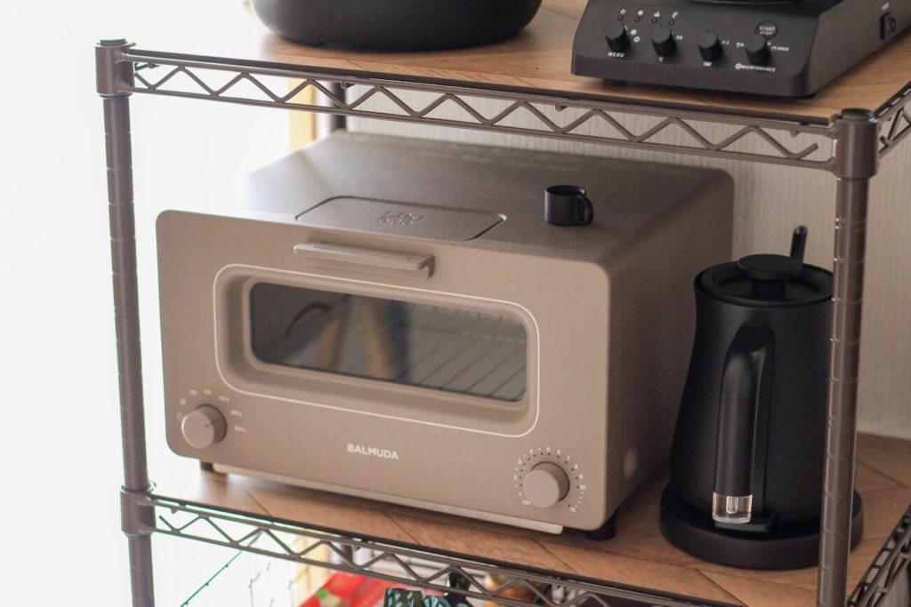 画像:subsclife(サブスクライフ)でレンタルしている家電 バルミューダのトースター