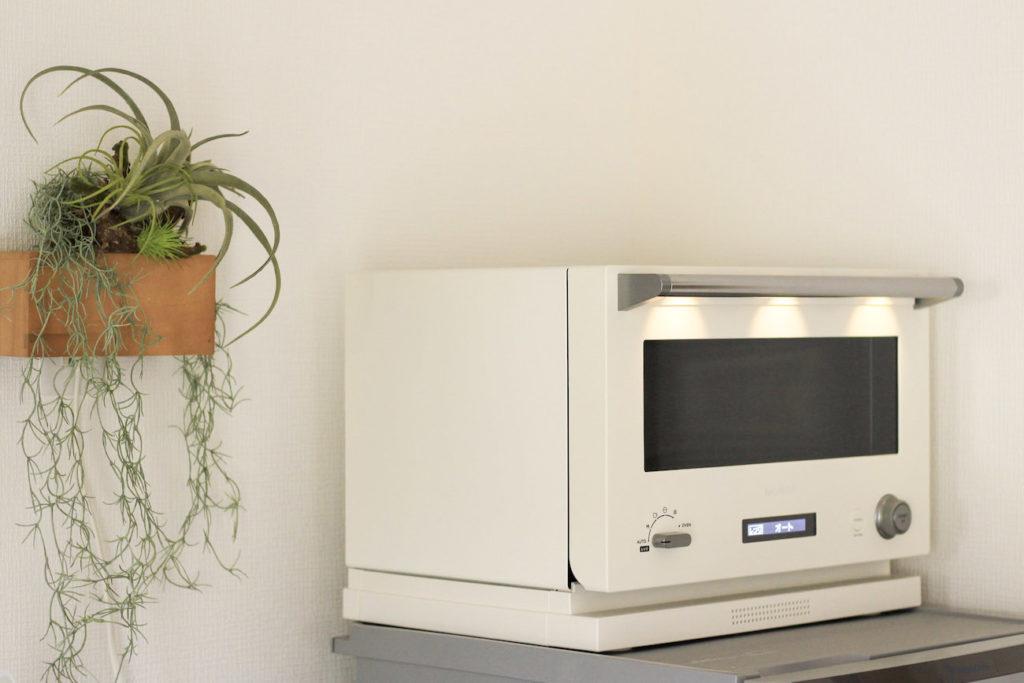 画像:subsclife(サブスクライフ)でレンタルしている家電 バルミューダ オーブンレンジ