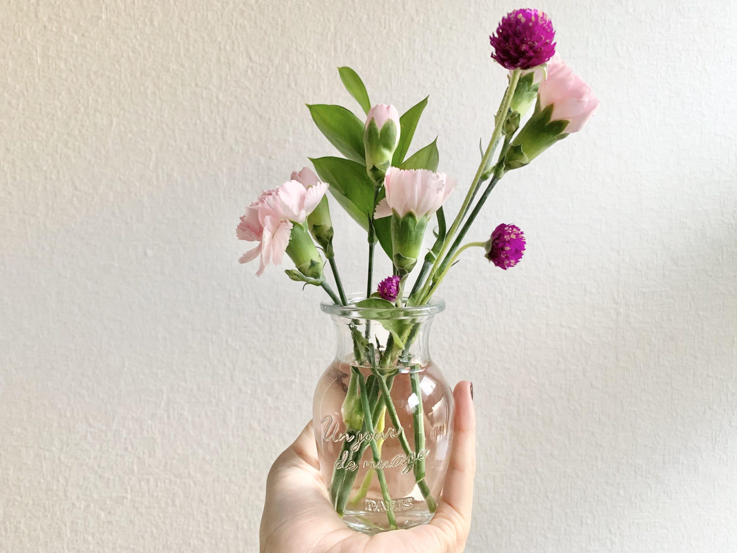 画像:お花のサブスク